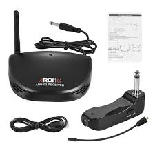 aroma aru 02 professional rechargeable uhf wireless digital audio