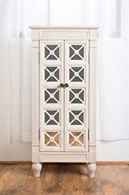 Jewelry Armoire Antique White Amazon Com Hives And Honey