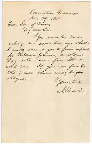 abraham lincoln thanksgiving proclamation 1864 letter from president abraham lincoln to secretary of the treasury