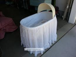 Bassinet To Crib Convertible Burlington Wicker Hawkeye Baskenette Baby Nursery Convertible