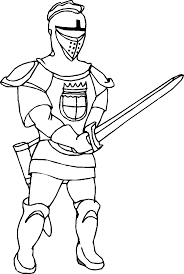 coloring pages kids knight coloring fresh