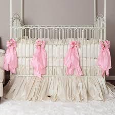 babies pink crib bedding