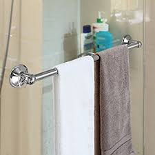 Command Hand Towel Bar Satin Nickel Towel Bar BATHSNES - Towels bars for bathroom
