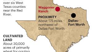 wt waggoner ranch map waggoner ranch if you want to buy it dallas business journal