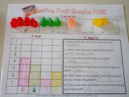 festive fruit snacks sorting and graphing teaching heart blog