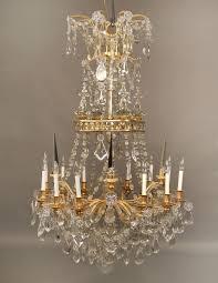 Antique Baccarat Chandelier Chandeliers Design Fabulous Magnificent Special Mid Century Gilt
