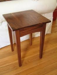 Shaker End Table Shaker End Table In Natural Cherry Woodwork Project Table