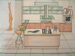 dessiner une cuisine en perspective perspective fabrice