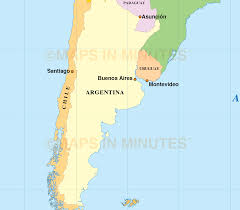 South America Map Quiz With Capitals by Digital Vector South American Countries Map In Illustrator And Pdf