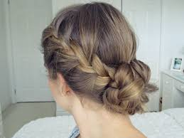 Easy Updo Hairstyles Step By Step by Bohemian Braid Updo Hair Tutorial Simple U0026 Easy Youtube