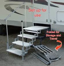 portable rv decks and steps