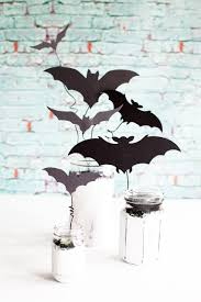 chalky finish halloween bat jars holiday decor whipperberry