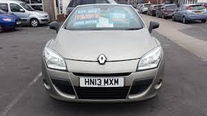 used renault megane dynamique tomtom convertible cars for sale