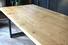 plateau bois pour bureau plateau bois brut pour table mrsandman co