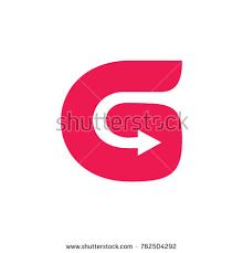 initial letter d arrow logo design stock vector 528839626