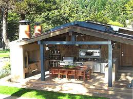 Outdoor Kitchen Cabinets Outdoor Kitchen Plans Ideas And Tips For Getting The Comfy Yet
