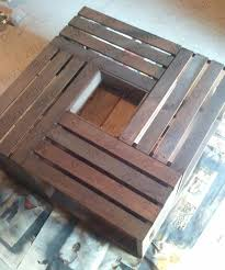 Building Wooden Coffee Tables by Diy Vintage Chic Vintage Wine Crate Coffee Table