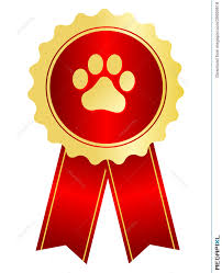 dog ribbon dog show award ribbon illustration 39006916 megapixl