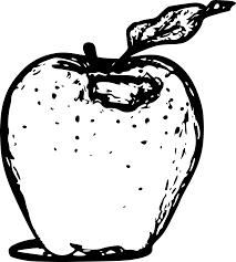halloween clip art png clipart apple line art