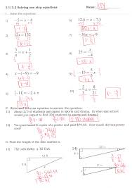 Quadratic Word Problems Worksheet With Answers Solving Equations With Variables On Both Sides Worksheet Answer