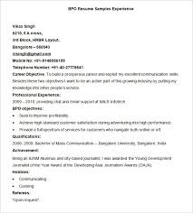 Download Resume Format Amp Write by Example Of Resume Experience