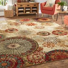 Home Area Rugs Mohawk Home Strata Caravan Medallion Multicolored Area Rug 5 U0027 X 8