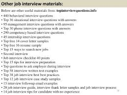 the best answers to tough interview questions job interview