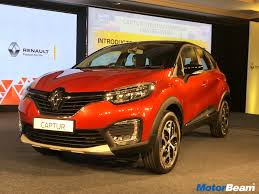 car renault price renault captur price starts at rs 9 99 lakhs motorbeam