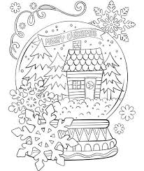 snow globe l post snow coloring page globe coloring sheet snow coloring sheets merry