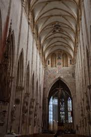 Cathedral Interior Ulm Cathedral Interior Stock Photo Image Of Region Ardenne