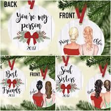 get a custom best friends ornament for 11 99 money saving