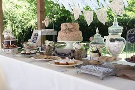 kara u0027s party ideas sweet table from a vintage shabby chic wedding