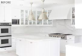 modern white cabinets kitchen how to add personality to a white kitchen emily henderson