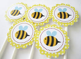 bumble bee cake toppers bumble bee cupcake toppers adorebynat online store powered by