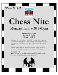 chess nites winter 2016 bellmore memorial library