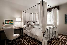 4 Poster Bed With Curtains Poster Bed Curtains Home Design Ideas
