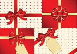 15 christmas gift vector images christmas present vector art