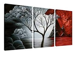 wieco the cloud tree wall paintings giclee