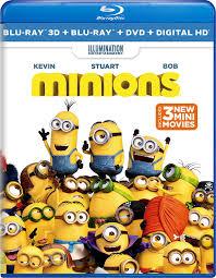 amazon minions blu ray 3d blu ray dvd digital hd