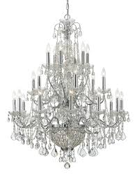 Chandelie Lighting Crystal And Bronze Chandelier Crystorama Chandeliers