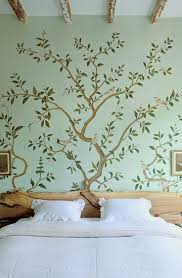 theme tree bedroom natural tree headboard asian home decor magnolia house