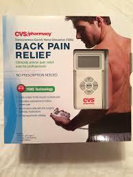 amazon com cvs pharmacy back pain relief tens technology health
