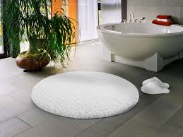 bathroom terrific circle snow white bath mats with round free