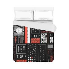 Super Soft Bed Sheets by Super Soft 21 Twenty One Pilots Brushed Fabric Bedding Duvet Cover