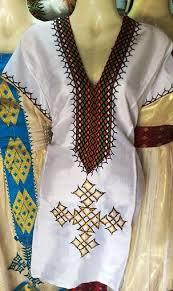 Hand Made Ethiopian Eritrean Habesha Dress Free Shipping Through