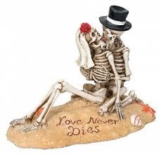 skeleton wedding cake topper skeleton wedding cake topper wedding collectibles
