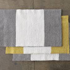 Yellow Bathroom Rugs Yellow And Gray Bathroom Rug Rug Designs