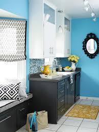 blue kitchen ideas blue kitchen design ideas better homes gardens