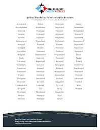 Words To Use In Resumes Good Words To Use On A Resume U2013 Okurgezer Co