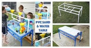 diy sand and water table pvc diy pvc pipe sand and water table usefuldiy com